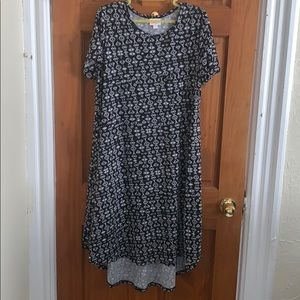 LuLaRoe Hi-Lo Carly Dress EUC